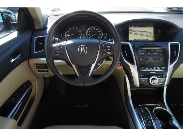 pre owned 2015 acura tlx v6 w tech v6 4dr sedan w technology package in bridgewater 66391. Black Bedroom Furniture Sets. Home Design Ideas